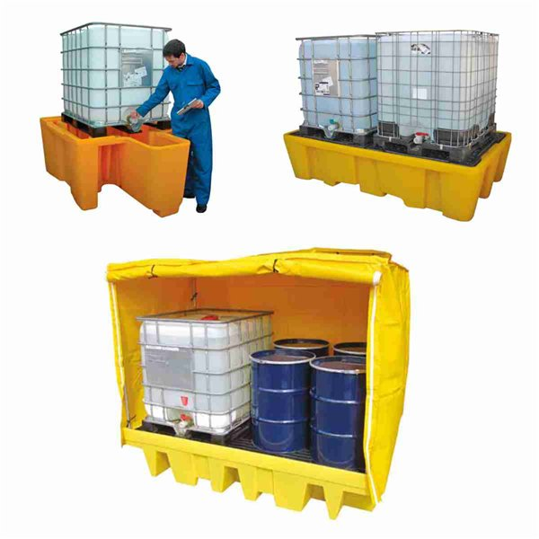 Bunded IBC Storage, IBC Spillpallet