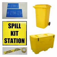 Spill Kit Accessories & Containers Disposal Bags & Ties, Shovels, Spill Kit Cont